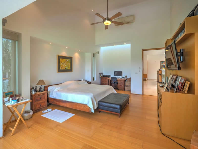 Master Bedroom Casa con alberca en venta El Tigre Nuevo Vallarta, Nayarit