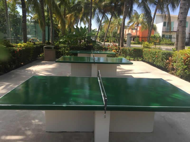 Mesas de ping ping Paradise Village El Tigre Golf Country Club Nuevo Vallarta