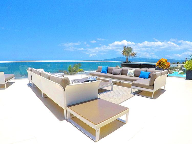 Outdoor Suite, Penthouse Beach-Front Peninsula-Nuevo Vallarta Mexico