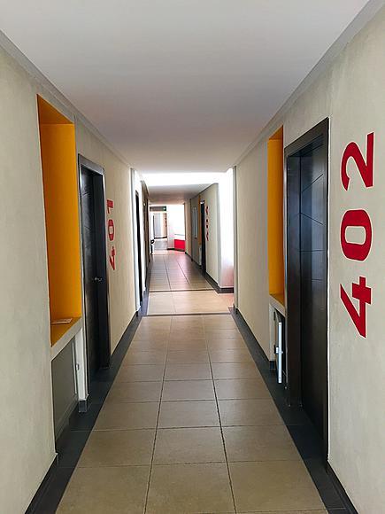Pasillo Desarrollo 3.14 Living en Nuevo Vallarta