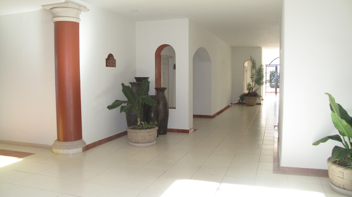 Pasillo Desarrollo Playa Royale en Nuevo Vallarta