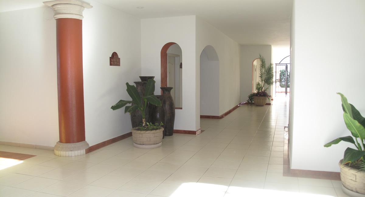 Pasillos Condominio Playa Royale en Nuevo Vallarta