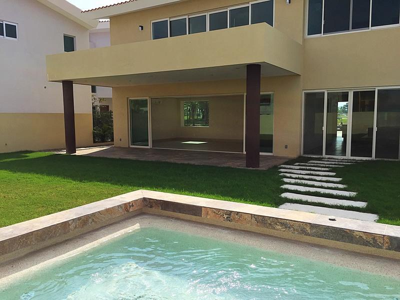 Piscina Casa en Venta Vista Lagos Paradise Village El Tigre Nuevo Vallarta Nayarit México