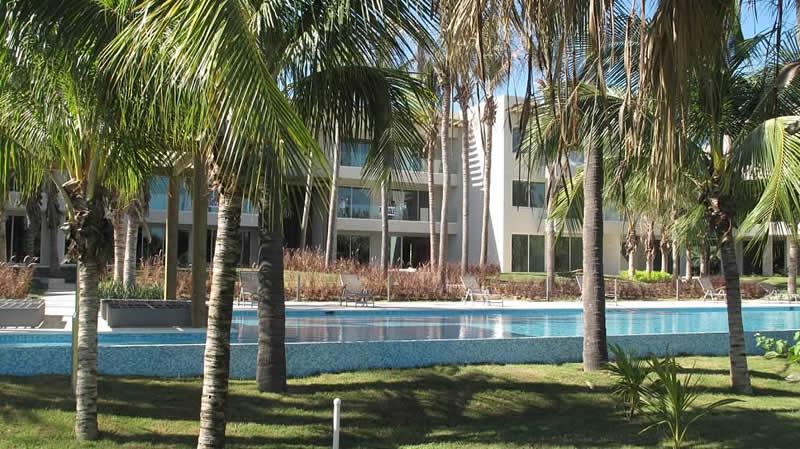 Piscina Condominio Península Golf en Nuevo Vallarta