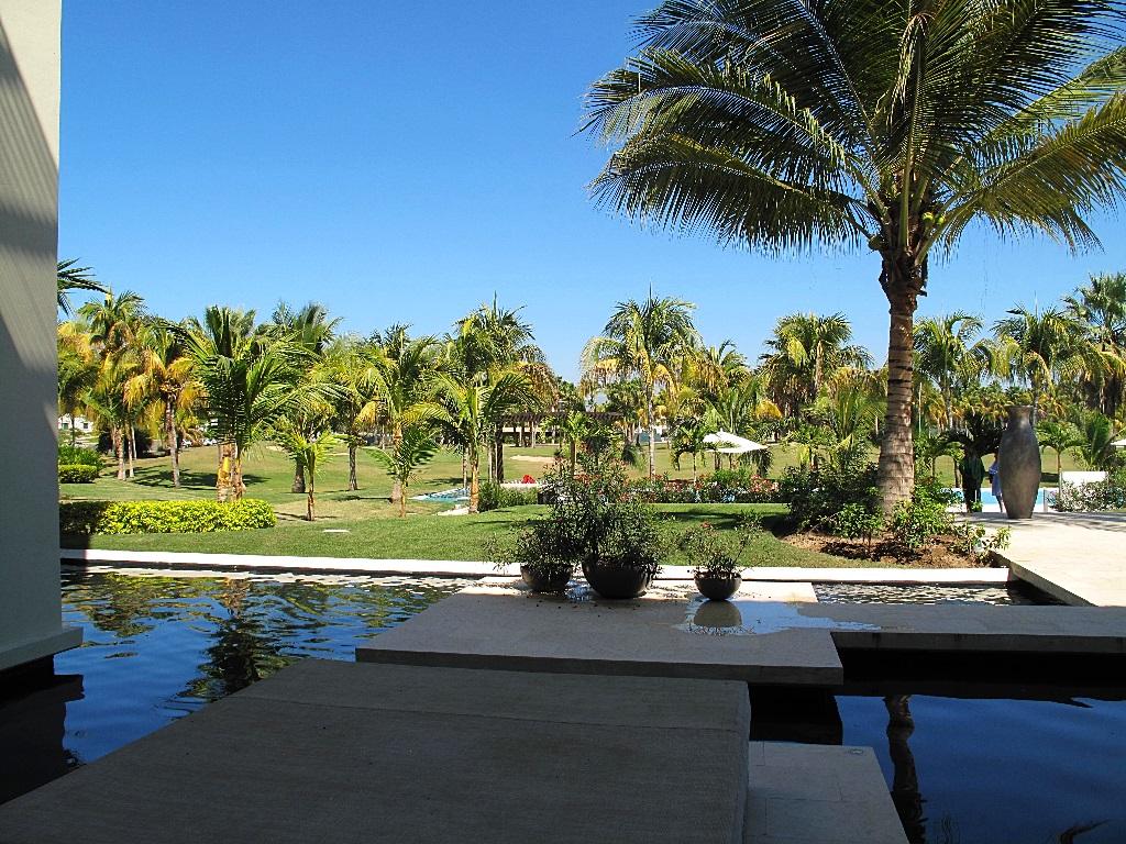 Piscina Desarrollo Península Golf Condominio en venta, El Tigre, Nuevo Vallarta, Nayarit, México
