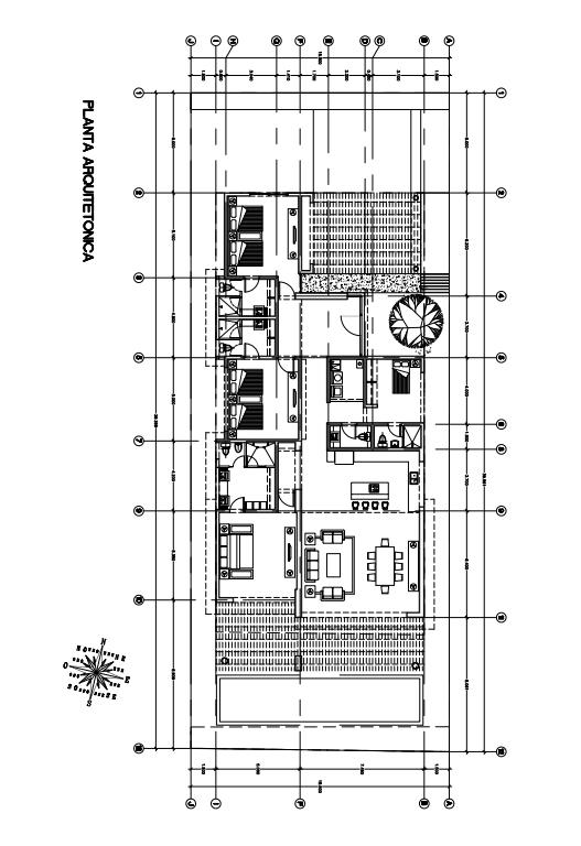 Plano arquitectónico Vista Lagos Paradise Village El Tigre Nuevo Vallarta