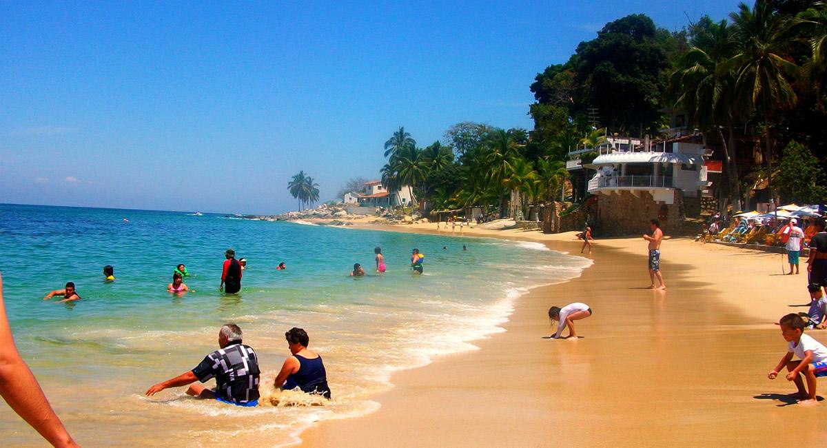 Playa las animas Puerto Vallarta
