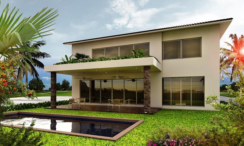 Vista posterior Vista Lagos Paradise Village El Tigre Nuevo Vallarta
