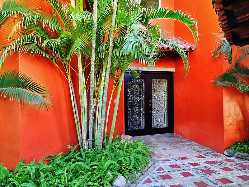 Puerta entrada Villa en bucerías Nayarit Lanigan