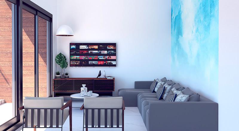 Quinta San Miguel Nuevo Vallarta Living room
