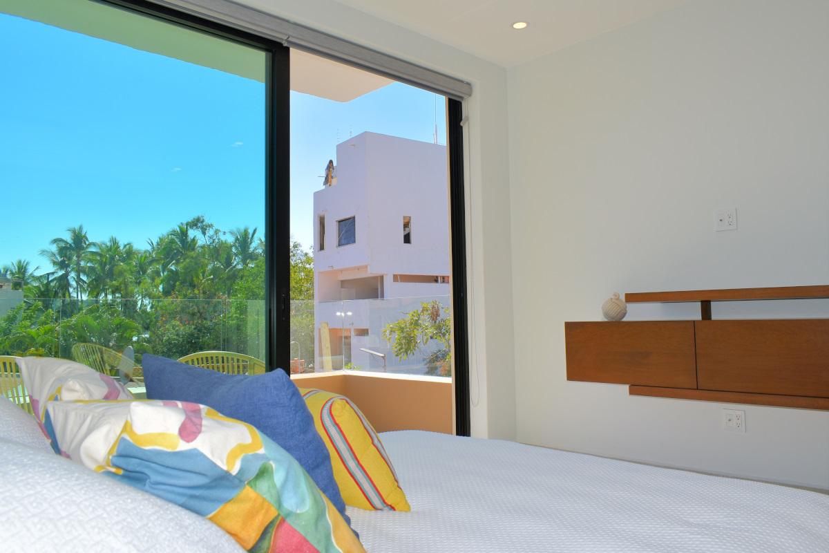 Recámara Condominio en venta frente a la playa San Pancho Nayarit