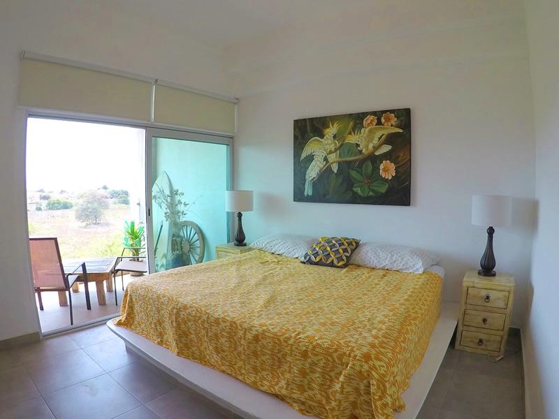 Recámara Apartamento en Venta 3.14 Living Nuevo Vallarta Nayarit