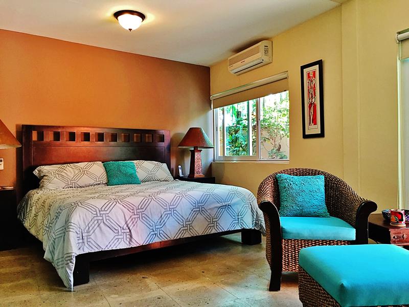 Recámara con aire acondicionado Villa en bucerías Nayarit Lanigan