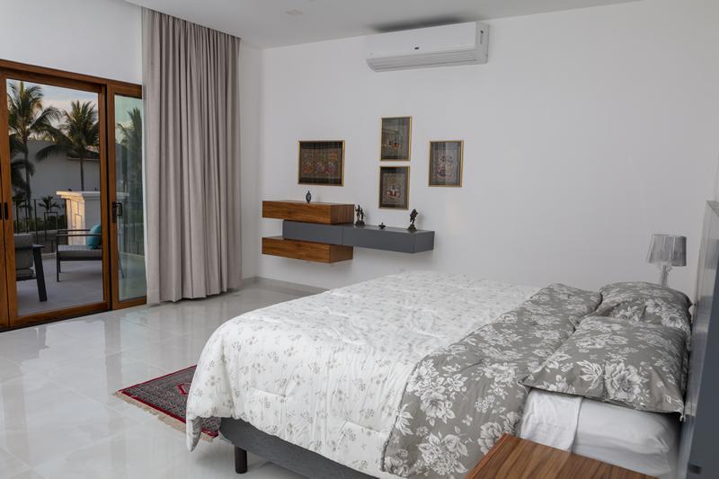 Recámara con terraza Casa de lujo en venta El Tigre Nuevo Vallarta Nayarit México