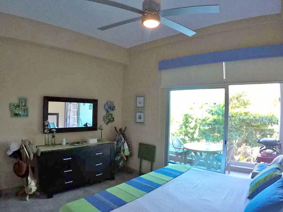 Recámara con terraza Departamento en venta 3.14 Living Plaza Nuevo Vallarta