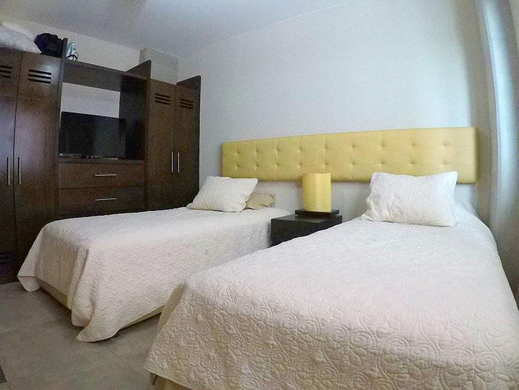 Recamara Condominio 3.14 en Nuevo Vallarta dos recamaras