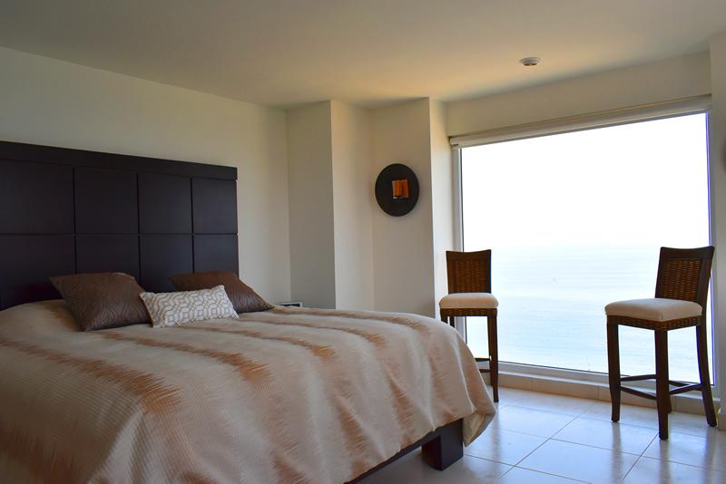 Recámara Condominio con vista al Mar en Venta Villa Magna Nuevo Vallarta