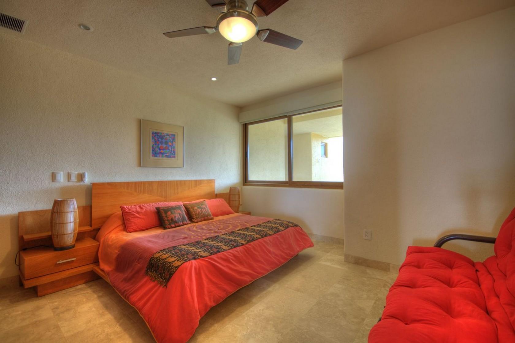 Recámara Departamento en venta Punta Esmeralda Resort La Cruz de Huanacaxtle