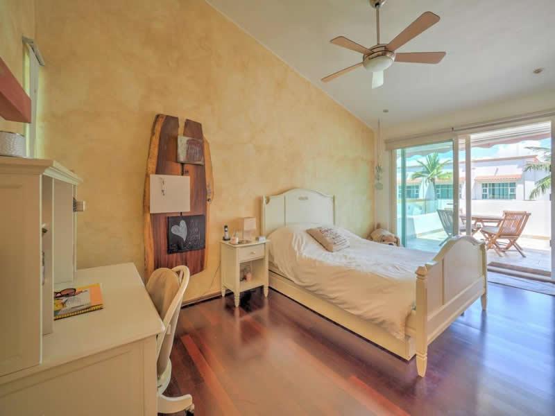 Recámara con terraza Casa con alberca en venta El Tigre Nuevo Vallarta