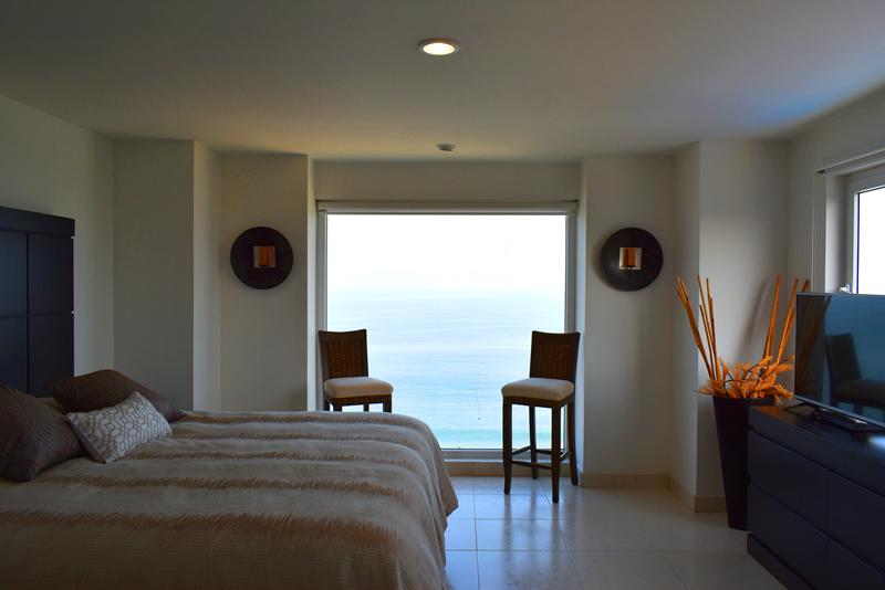 Habitación con vista al oceano Condominio con vista al Mar en Venta Villa Magna Nuevo Vallarta