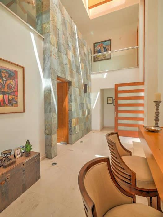Recibidor Casa con alberca en venta El Tigre Nuevo Vallarta