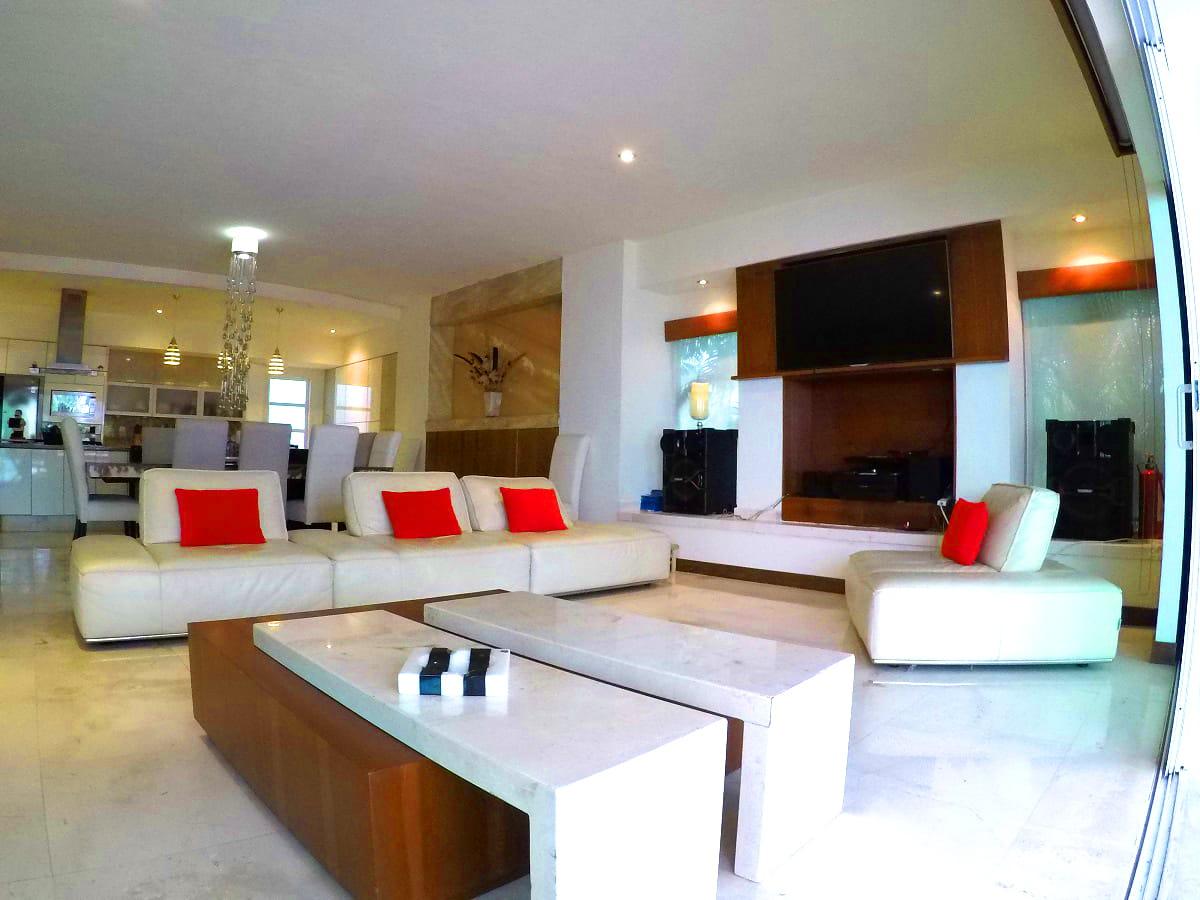 sala Villa en venta Vallarta Gardens La Cruz de Huanacaxtle