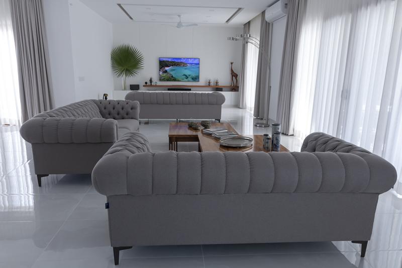Sala Casa de lujo en venta El Tigre Nuevo Vallarta Nayarit México