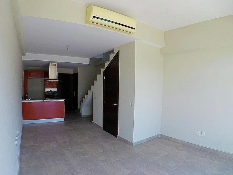 Sala Condominio 3.14 Living Plaza Nuevo Vallarta en venta