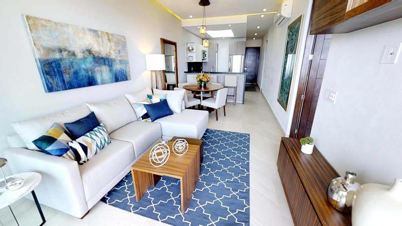 Sala Condominio en venta Punta Paraíso San Pancho Riviera Nayarit