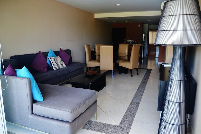 Sala Condominio Villa Magna Nuevo Vallarta