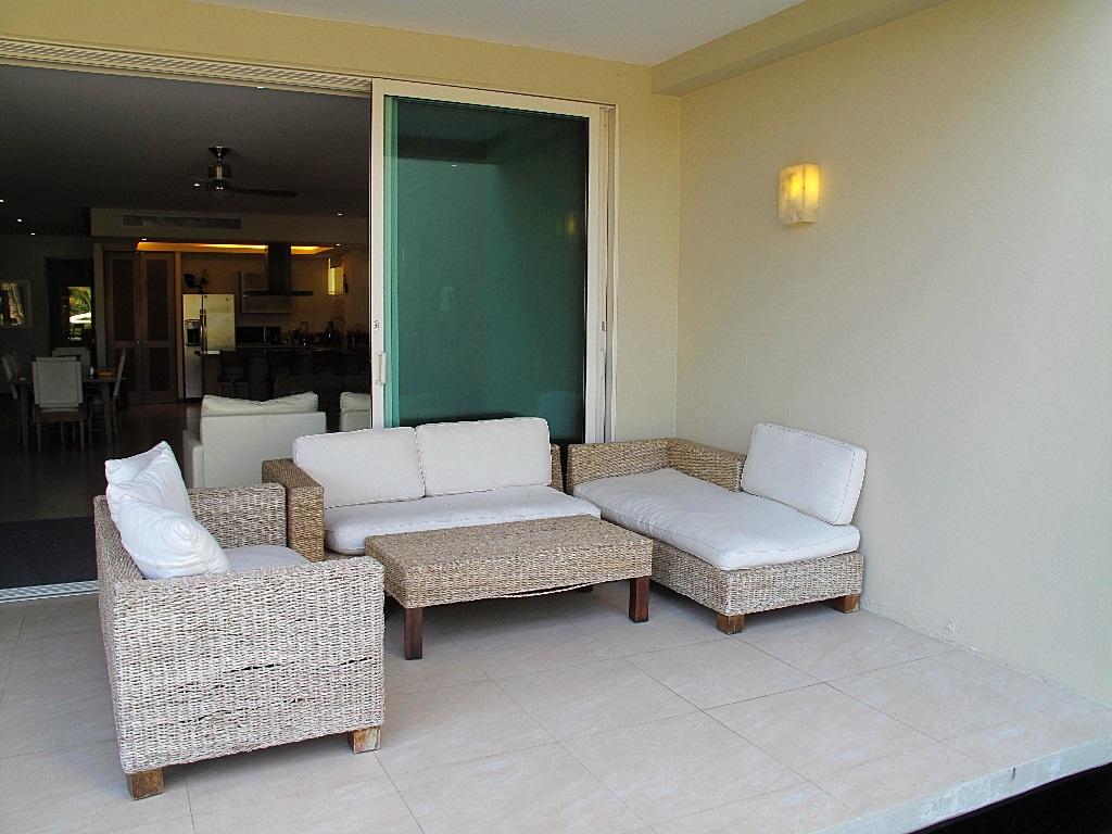 Sala de descanso Desarrollo Península Golf Condominio en venta, El Tigre, Nuevo Vallarta, Nayarit, México