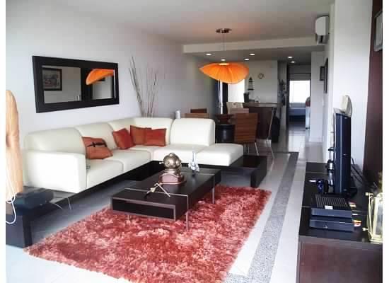 Sala dos piezas Condominio Villa Magna Nuevo Vallarta