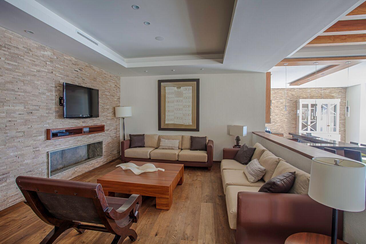 Sala lounge Condominio DelCanto Nuevo Vallarta en Venta