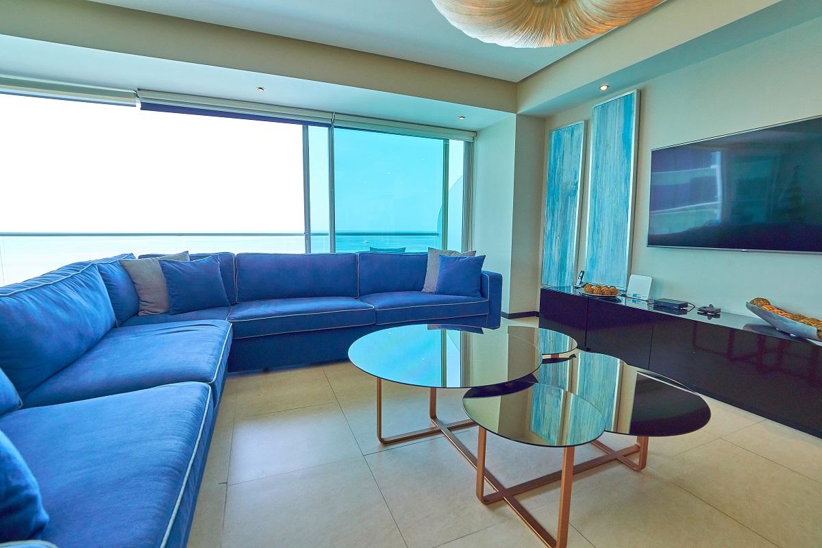 Sala Península Puerto Vallarta Condominio en venta