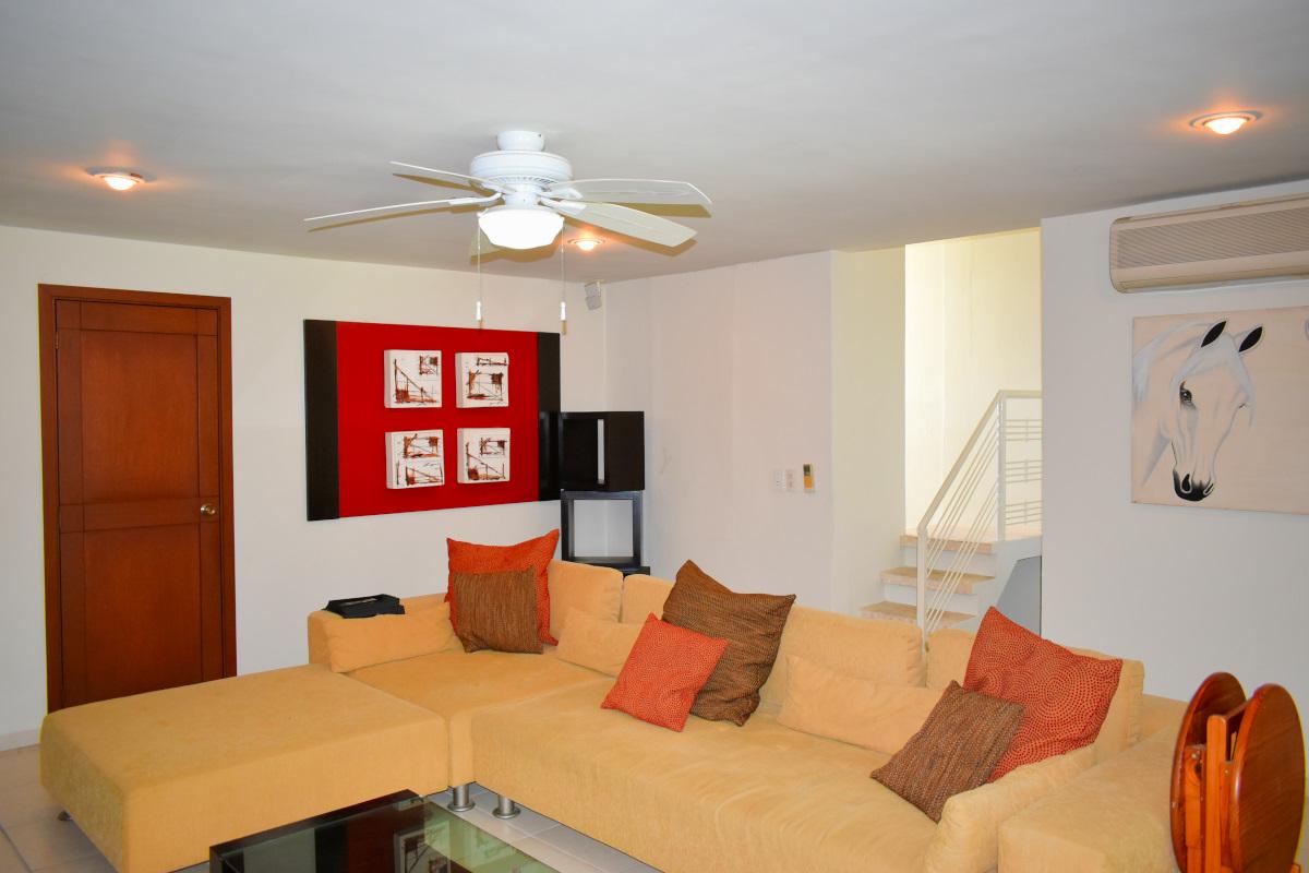 Sala Penthouse Green Bay, El Tigre, Nuevo Vallarta