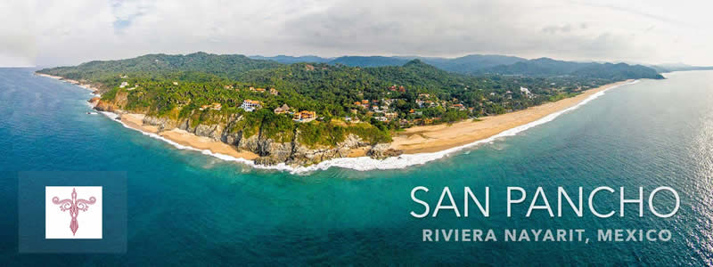 Foto aérea San Pancho Nayarit