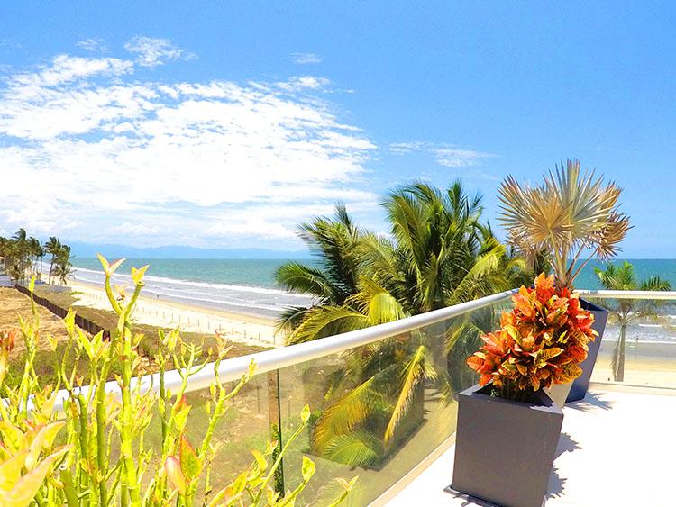 South end Penthouse Beach-Front Peninsula Nuevo Vallarta Mexico
