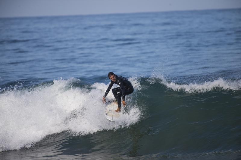 Surf en la playa San Pancho Nayarit