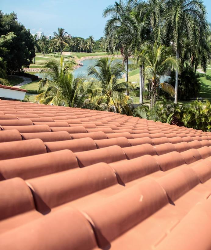 Tejado Villa Jaguar en Paradise Village Golf y Country Club