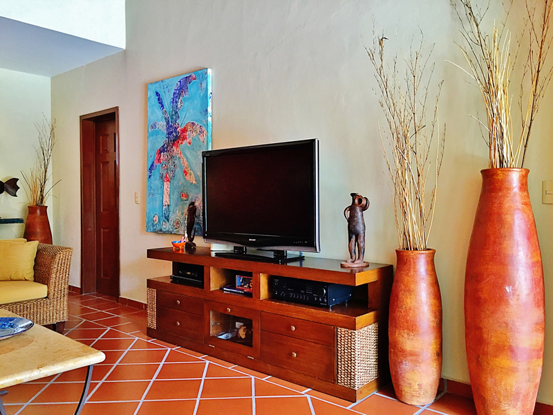 Televisor Villa en bucerías Nayarit Lanigan