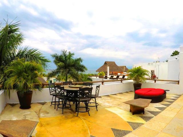 Terrace Villa for sale Vallarta Gardens La Cruz de Huanacaxtle