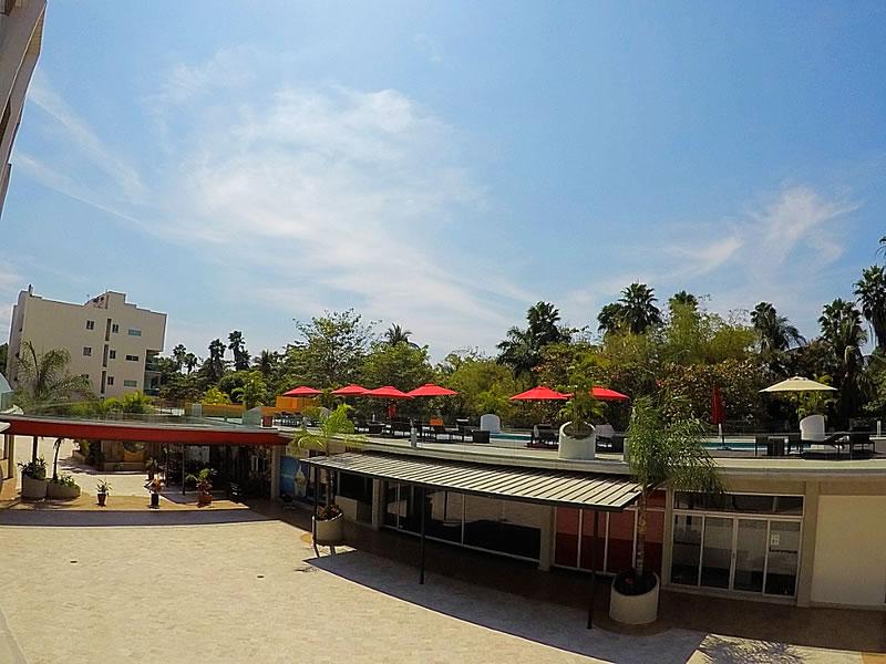 Terraza Condominio 3.14 Living Plaza Nuevo Vallarta en venta
