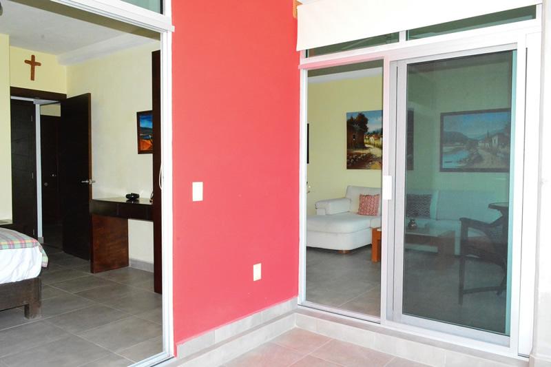 Terraza Condominio amueblado en venta Living 3.14 Nuevo Vallarta