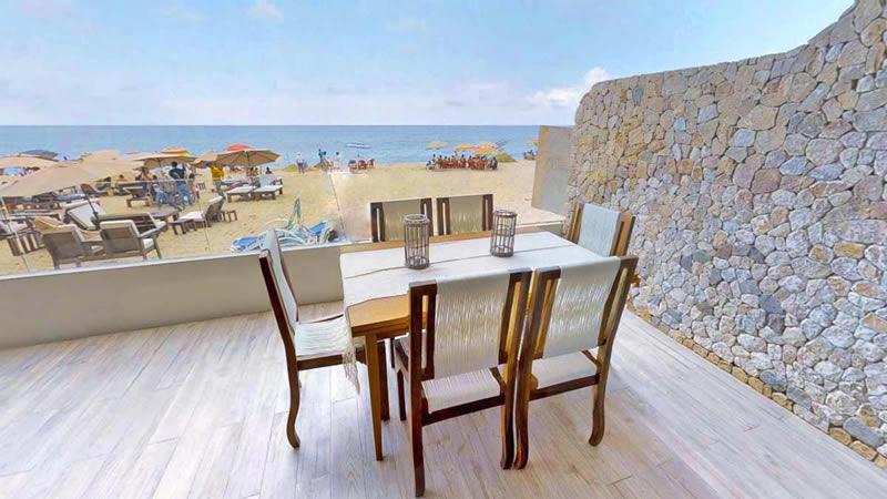 Terraza Condominio en venta Punta Paraíso San Pancho Riviera Nayarit