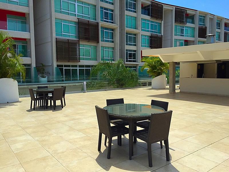 Terraza Departamento en Venta Nuevo Vallarta Nayarit 3.14 Living