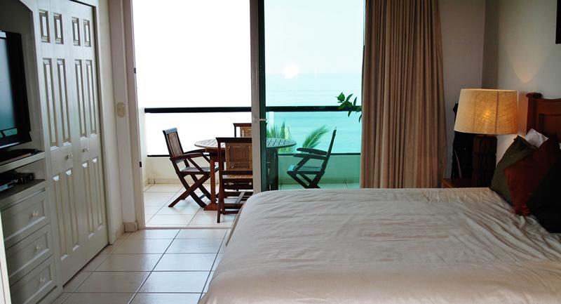 Terraza recamara Condominio Playa Vista Residences en Nuevo Vallarta