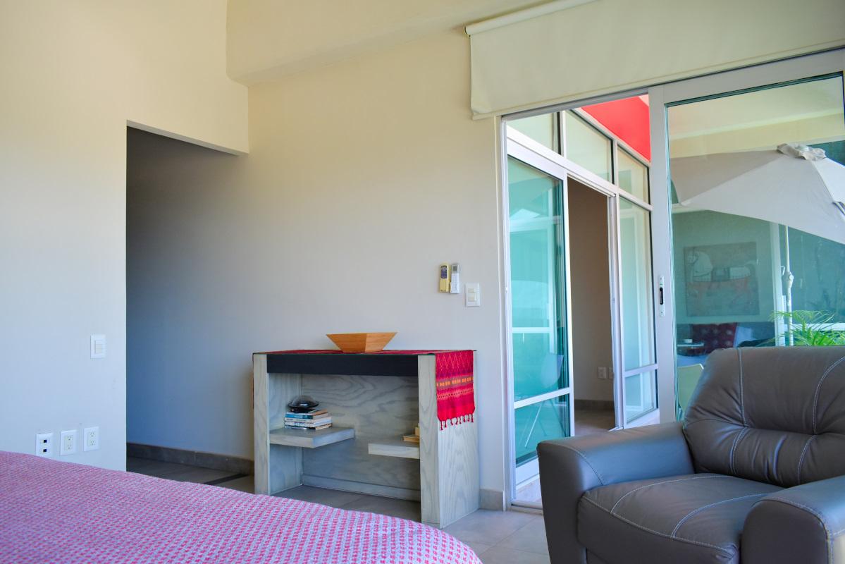 Terraza recámara Penthouse Nuevo Vallarta en Venta 3.14 Living