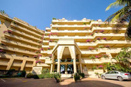 Entrance-Ocean Vista Residences Condominum Nuevo Vallarta