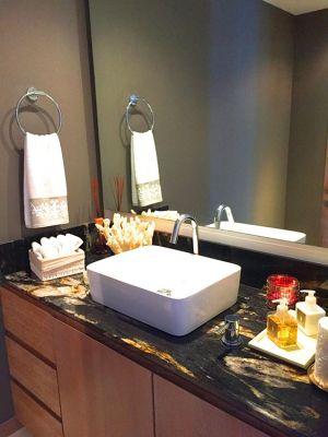 Guest Bathroom-Ocean Front Corner Penthouse In Peninsula Nuevo Vallarta