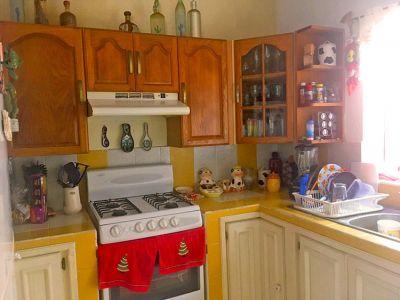 Kitchen - Two-Story House In Ixtapa Jalisco